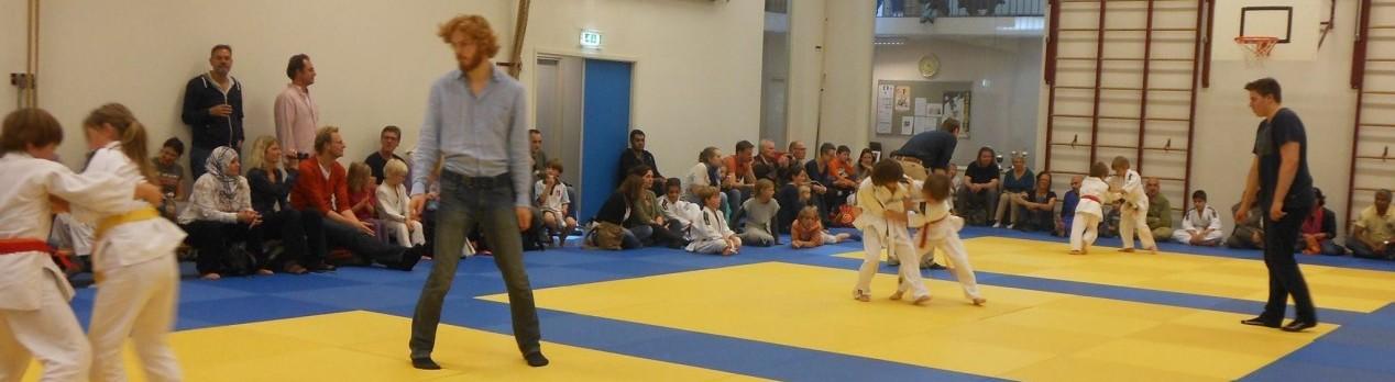 Judo Competitie Amsterdam van start op za 14 oktober