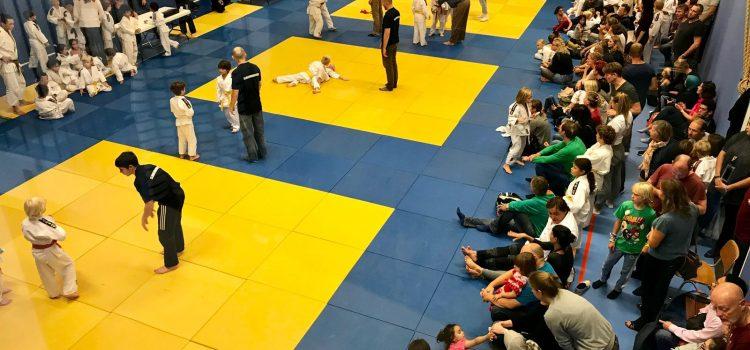 Uitslagen eerste ronde Judo Competitie Amsterdam