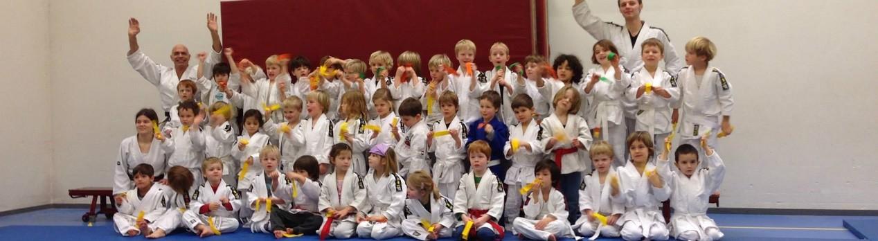 Judo examens in juni