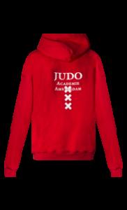 Judo Academie Amsterdam – hoodie rood